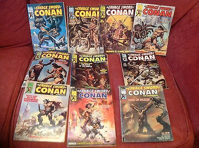 Savage Sword Of Conan 10 Issues