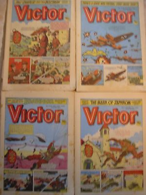 Collection of 20 Victor Comics 1984