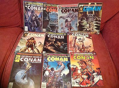 Savage Sword Of Conan, 10 Issues