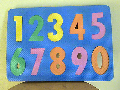 Rubbery Numbers Puzzle Mat