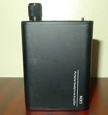 Topping NX1 Headphone Amplifier Rechargeable iPhone PC MP3 Smartphone AUX RCA