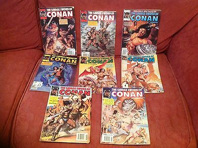Savage Sword Of Conan 8 Issues