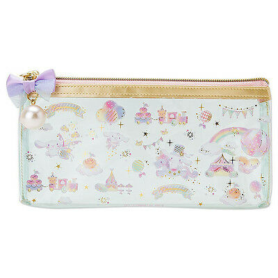 Cinnamoroll PVC Clear Multi Case Pouch S Happiness Girl ❤ Sanrio Japan