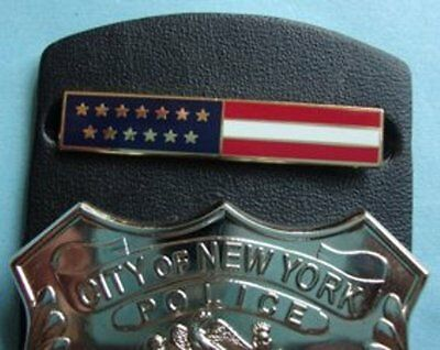 Nypd Breastbar Us Flag