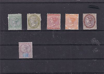 Early Jamaica Mounted Mint Stamps   R 2196