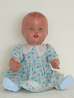 17-inch vintage composition Pedigree baby doll