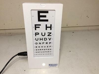 Keeler Finesse Single Sided Eye test chart