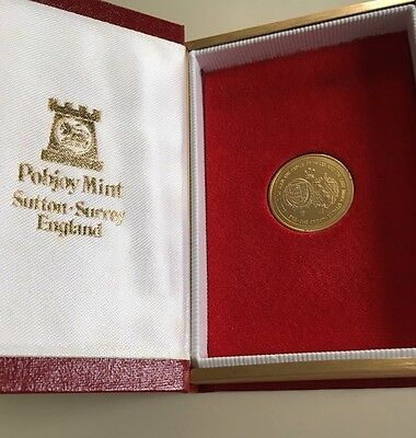 Gold Crown Coin Commemorating Marriage Of Charles And Diana Pobjoy Mint