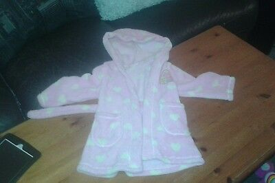 Girls peppa pig dressing gown 2-3 years