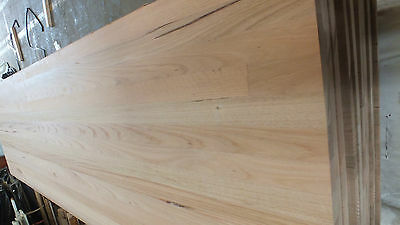 33mm thick KITCHEN BENCHTOP 5.4mtx600mm wide hwd timber vic ash bench $450