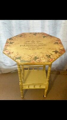Shabby Chic Vintage Style Side table