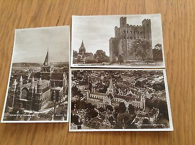 Rochester Castle & Cathedral Postcards