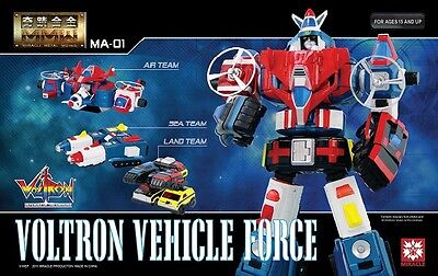 Miracle Production MA-01 Voltron Vehicle Force(Dairugger XV) nuovo sigillato