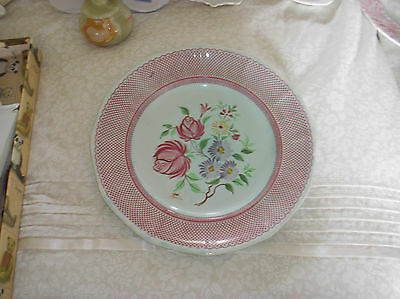 wakefield Calyx wear floral patterned plate