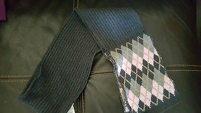 Euro  knitted GIRLS scurf by Hempels  sz 4/7 YEARS  GERMANY