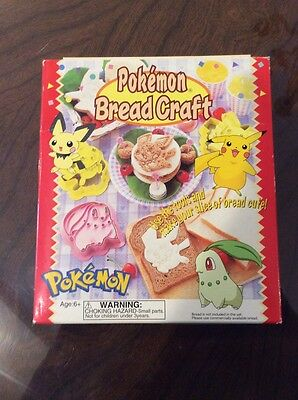Pokemon Cookie Cutters New in Box!