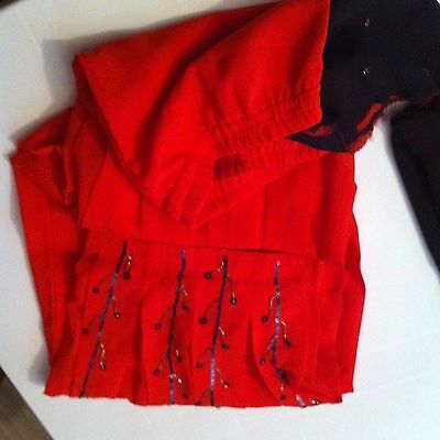 Girls asian/ indian/ pakistani embroidered  suit ~~~2 piece  Sz 32