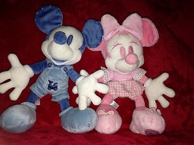 Unique Mickey And Minnie Mouse Soft Toys Disney Store Exclusives