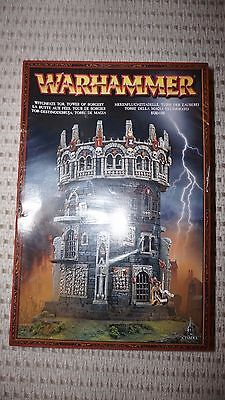 BNIB Warhammer Scenery Witchfate Tor, Tower of Sorcery. Rare and OOP. HUGE!
