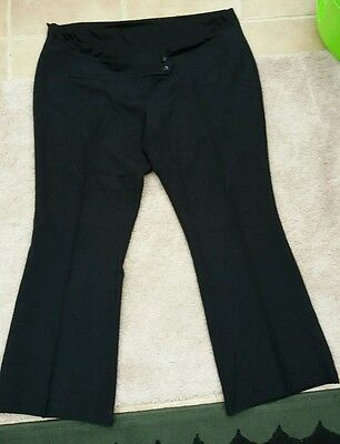 maternity trousers size 20