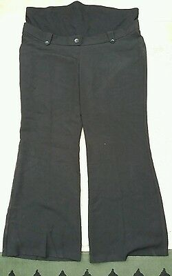size 18 overbump maternity trousers