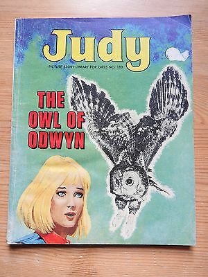Judy Picture Story Library #183 - The Owl of Odwyn VG+