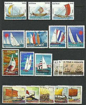 Sailing Ships. Two sheets of stamps
