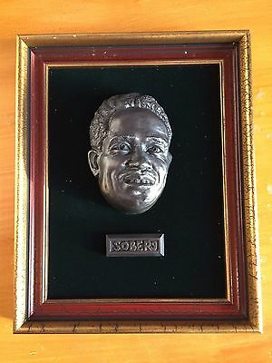 Sir Garfield Gary Sobers First Impressions 3D antique replica face Plaques 8/500