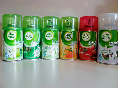 6x Airwick Freshmatic Max Automatic Spray Refills 250ml (Choose Your Fragrance)