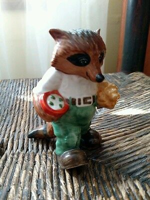 Vintage Ringtail Raccoon GRANDPA figurine Goebel Hummelwerk Germany 1981