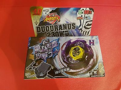 Beyblade Duouranus 230WD Rapidity UK Seller - 1ST CLASS DELIVERY!