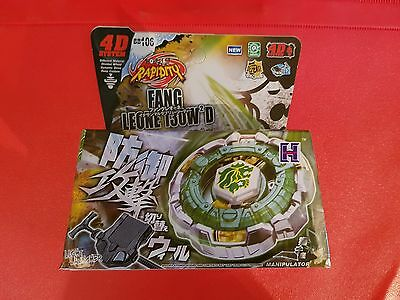 Beyblade Fang Leone 130W2D UK Seller - 1ST CLASS DELIVERY!