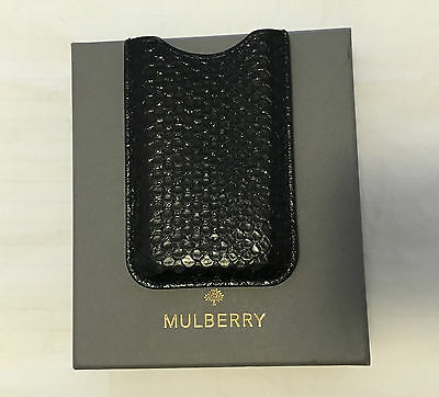 Mulberry Genuine Leather Python Iphone 4 4S holder