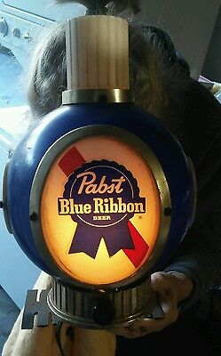 Vintage Pabst Blue Ribbon Beer Light Looks And Works Great