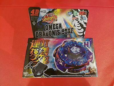Beyblade Omega Dragonis 85XF Rapidity UK Seller - 1ST CLASS DELIVERY