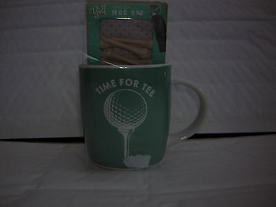 Time For Tee Golfers Mug And Tees Brand New Ideal For Fathers Day Easter Etc