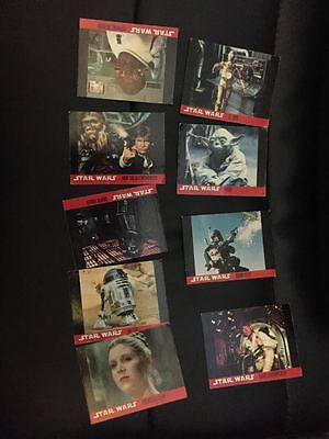 STAR WARS double sided Lucasfilm original topps cards from 1995