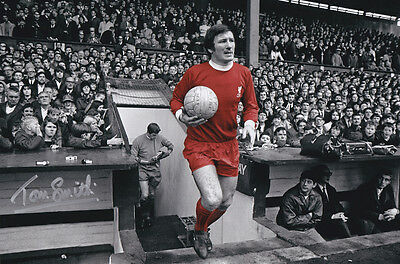 TOMMY SMITH Signed Photo LIVERPOOL Autograph Memorabilia