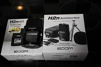 H2n ZOOM Handy recorder BOXED with Accessory Pack Boxed