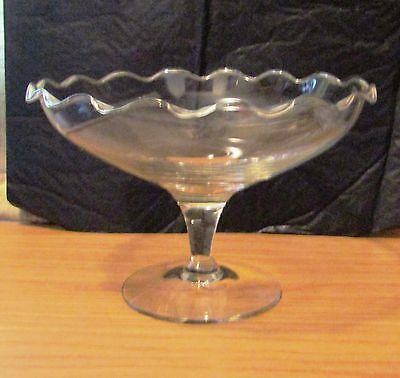 Large Glass Sweet Candy Bowl