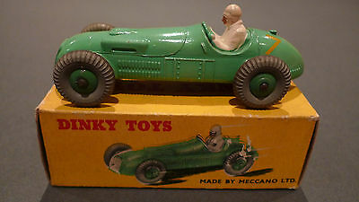 Vintage Dinky 23J H.W.M. Racing Car - Boxed in Very Good Condition