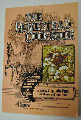 The Homestead Cookbook For Home and Family Use Illustrated Collection of Recipes