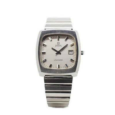 Vintage Omega Seamaster Stainless Steel Automatic Watch For Men Swiss Made