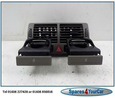 Audi A2 00-05 Centre Air Vent with cup Holder - Brown - Part no 8Z0820951A