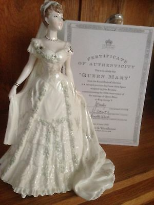 Coalport Figurine Queen Mary Royal Bride Limited Edition Of 7,500