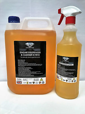 Engine Degreaser Spray Cleaner Car Grease Dirt Remover 6 Litre HEAVY DUTY OFFER
