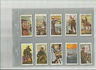 FULL  SET - Wills - Britain's Part in the War - 1917