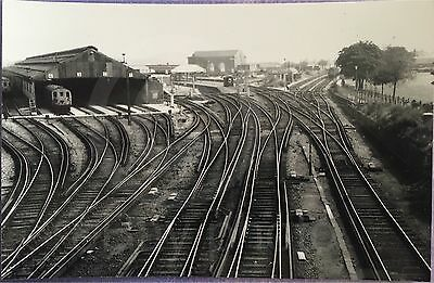 Ramsgate Railway Station And Depot - Real Photo.Old Rare Item - See Listing