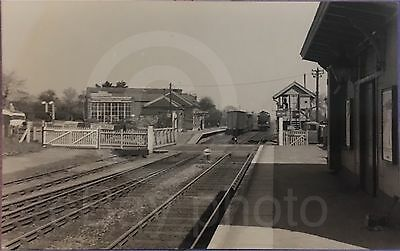 Sturry Railway Station Kent NR Canterbury Real Photo.Old Rare Item - See Listing