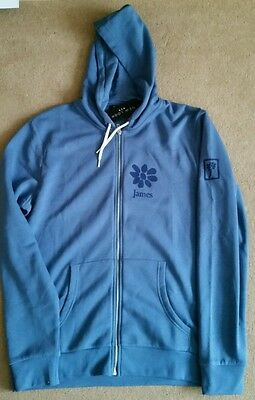James the band Tim booth hoody blue